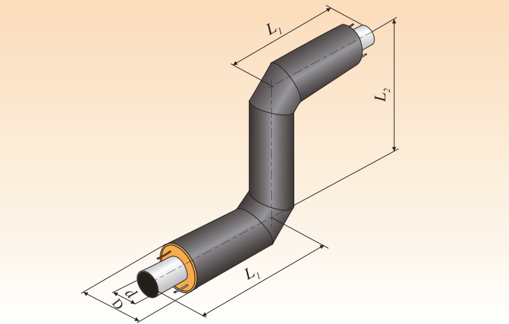 Z - образный элемент. Тип изоляции 1