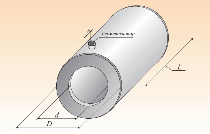 Металлическая заглушка изоляции